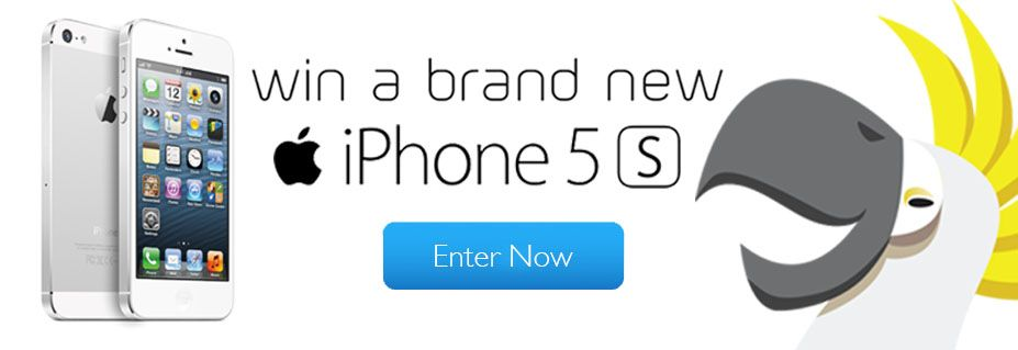 Win a Brand New iPhone 5S!
