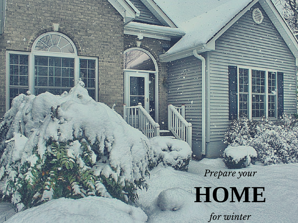 Prepare home for winter