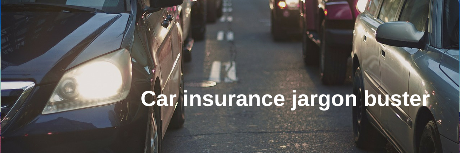 car insurance jargon buster
