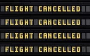 flights cancelled