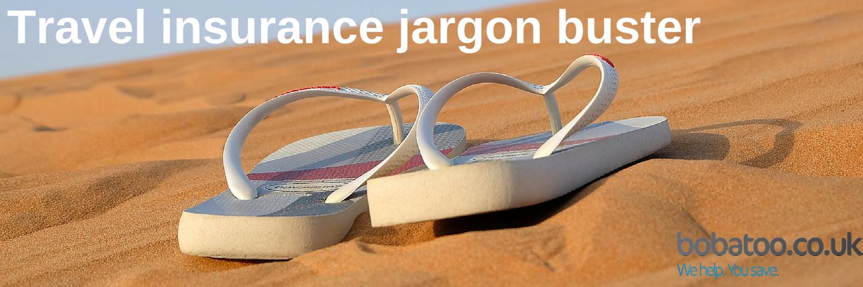 travel insurance jargon buster