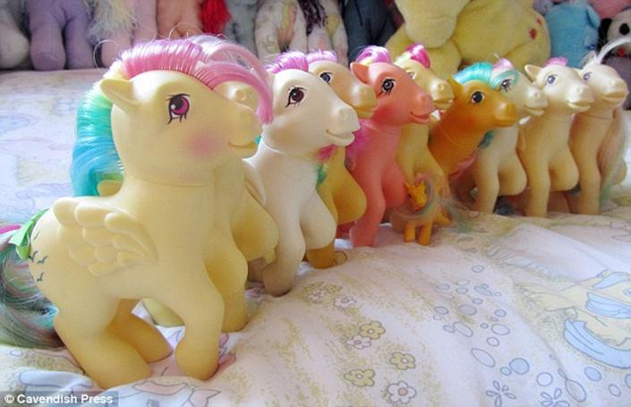 My Little Pony toy figures