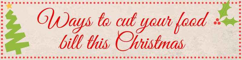 save money on Christmas food