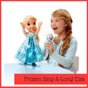 Disney Frozen toy Elsa singalong