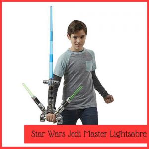 jedi master lightsabre toy