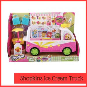 Shopkins ice cream truck toy