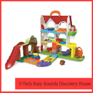 V tech discovery house toy