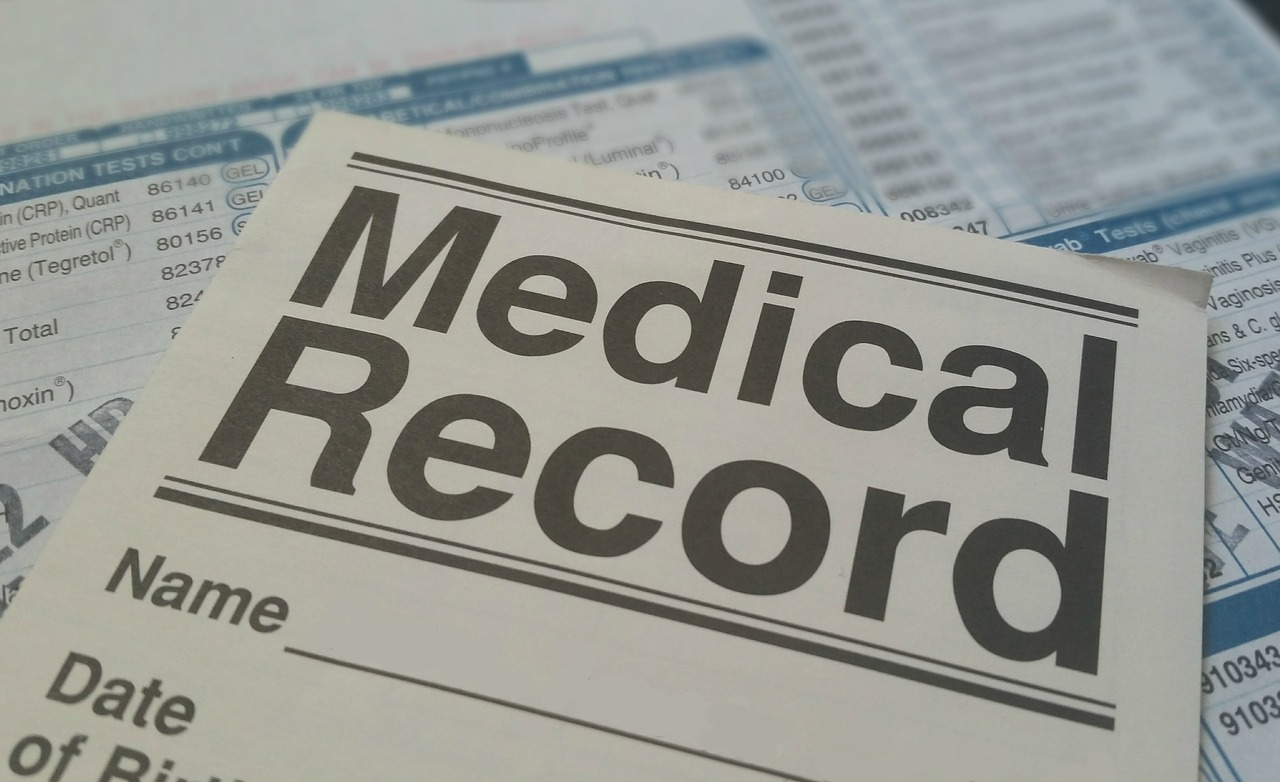 medical record sickness illness