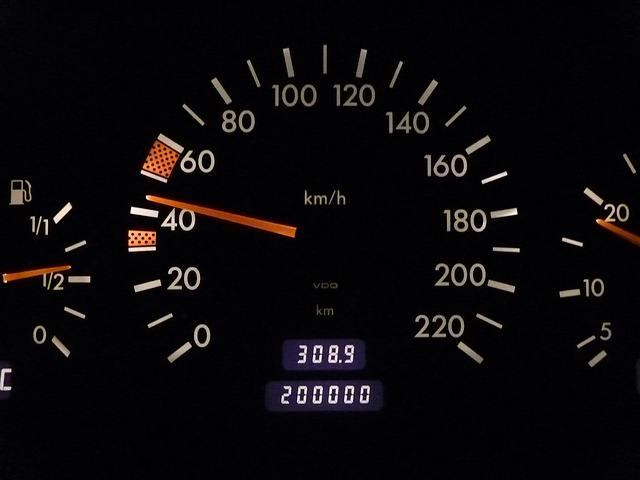 Mileage speedometer