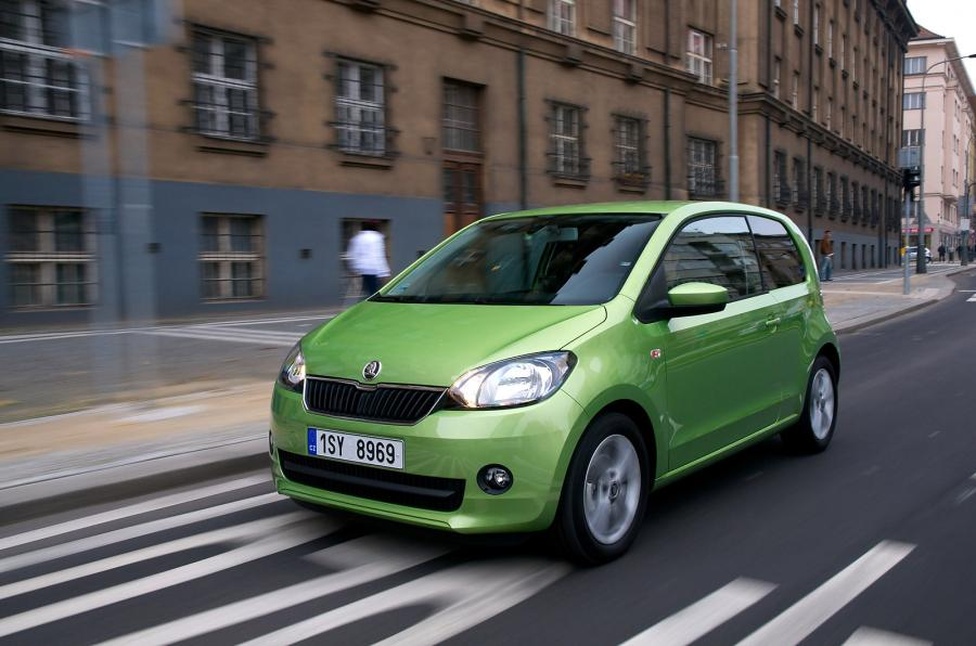 Skoda Citigo green