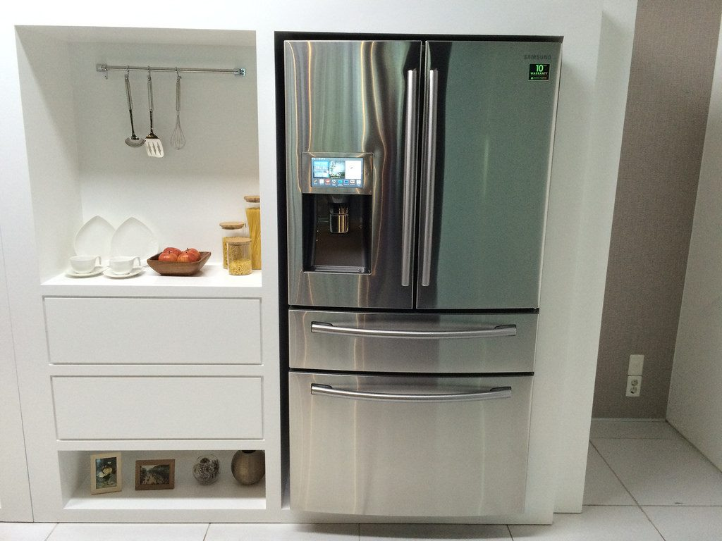 Samsung Smart Fridge - Silver