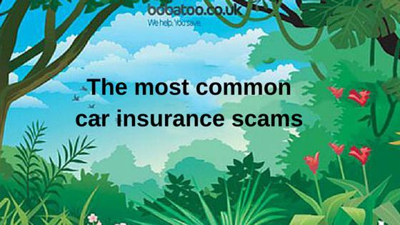 car insurance scams
