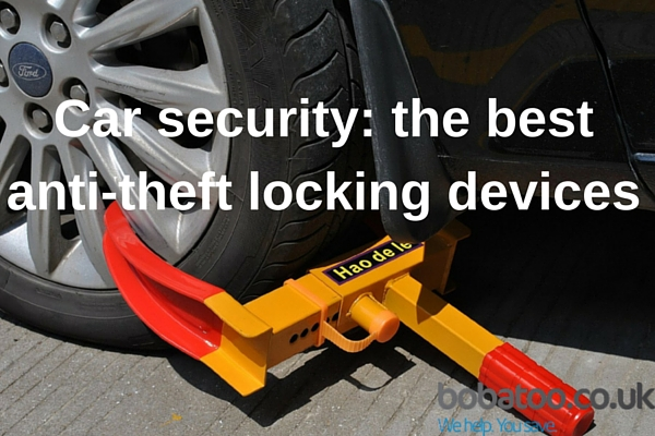 anti-theft locking devices for cars