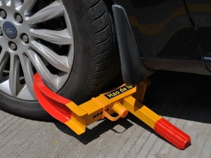 FDS car wheel clamp product image