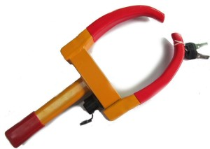 Heavy duty wheel clamp lock product image