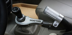 OK Lock handbrake and gear lock product image
