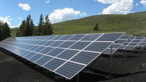 green energy solar panels