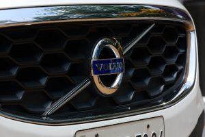 volvo badge on car