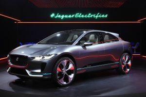 Jaguar I-Pace car