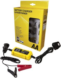 AA car battery charger