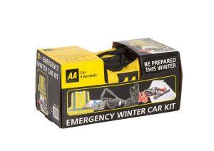 AA emergency winter car kit