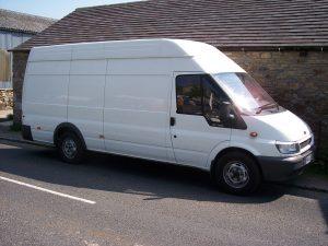 Transit van - white