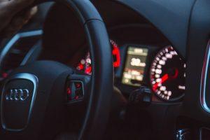 Audi car interior