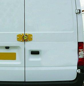 van door lock on white van