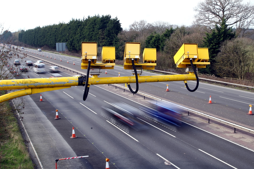 motorway speed cameras