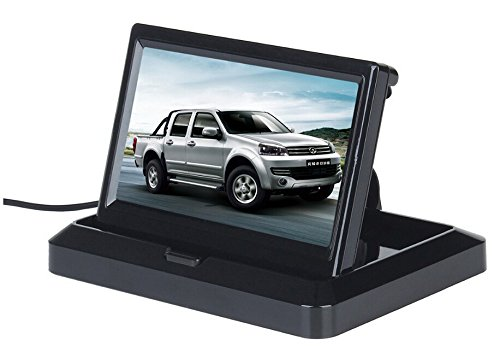 BW monitor screen for reversing camera