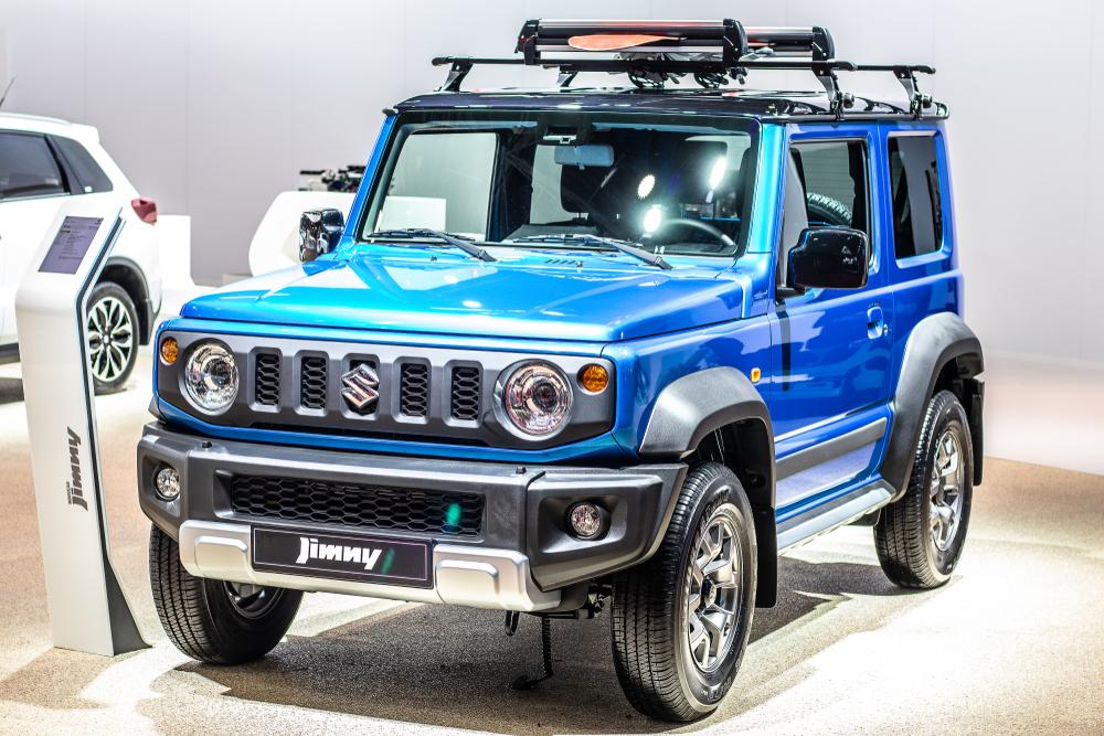Suzuki Jimny blue