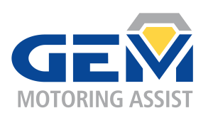 GEM Motoring Assist logo