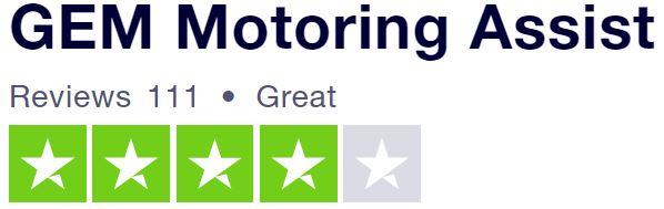 GEM review on Truspilot