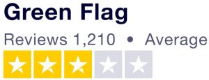 3 star rating showing on Truspilot