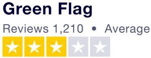 3 star rating showing on Truspilot