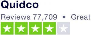 Quidco Trustpilot review