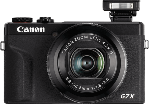 Image of the Canon PowerShot G7X Mark iii