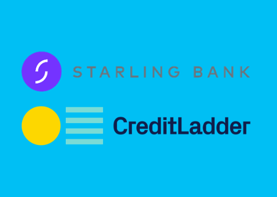 Starling and CreditLadder logos
