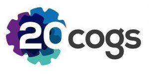 20 Cogs logo