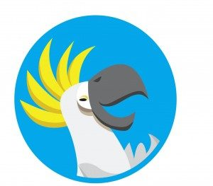 Bobatoo logo of bird