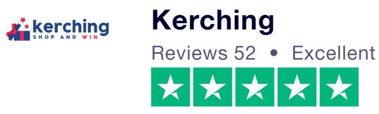 Kerching Trustpilot five-star rating