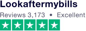 5 star rating from Trustpilot