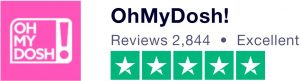 OhMyDosh review on Trustpilot