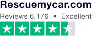 RescueMyCar rating on Trustpilot