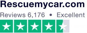 RescueMyCar rating on Trustpilot