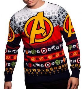 Marvel Avengers Christmas jumper