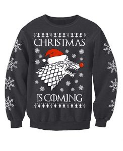 Game of Thrones themed Christmas jumper