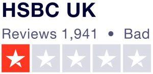 HSBC Trustpilot review