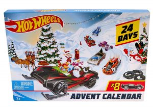 How Wheels advent calendar