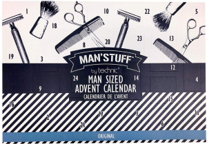 Man's Stuff advent calendar